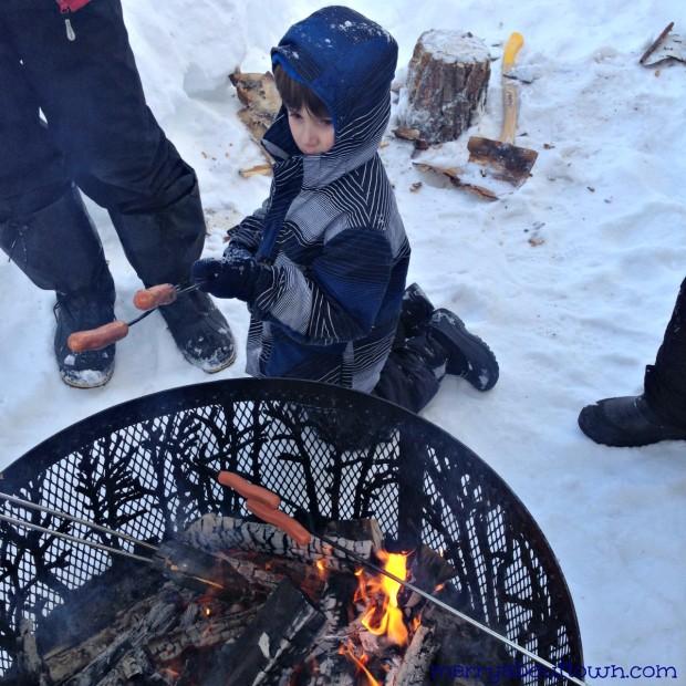 Winter Weiner Roast