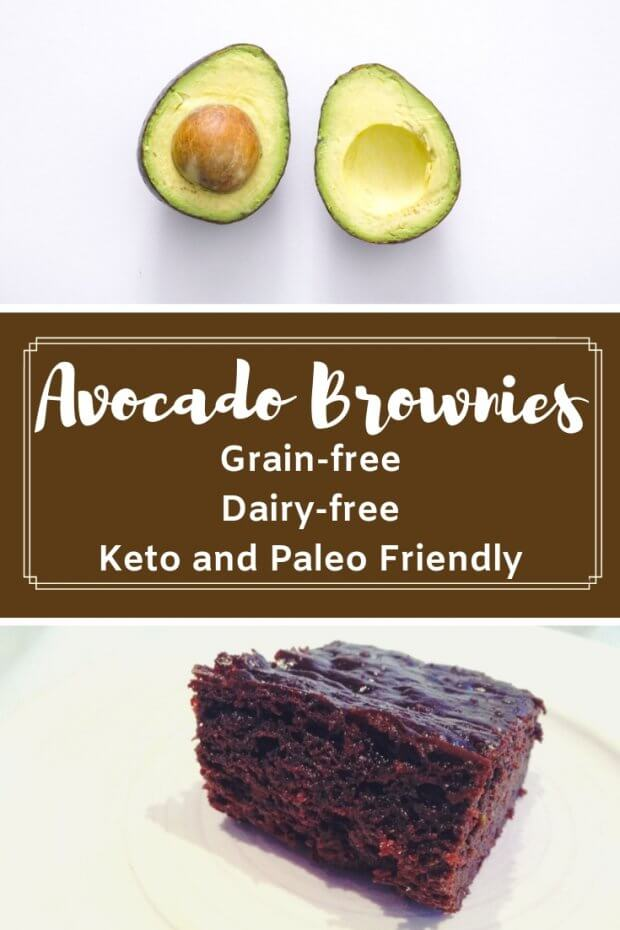 Grain-free and Dairy-Free Avocado Brownies