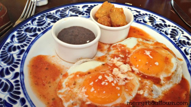 Huevos Rancheros at Azul Sensatori - MerryAboutTown