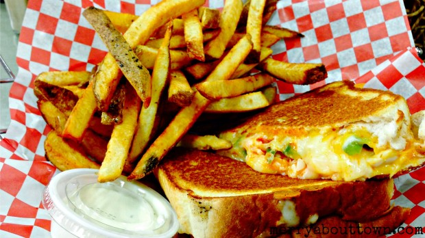 Buffalo Chicken Grilled Cheese at Naina's Kitchen - MerryAboutTown.jpg