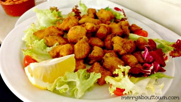 Deep fried Pickled Shark