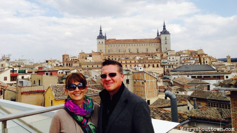 Dewey and I in Toledo, Spain.jpg