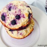 Delicious Lime Blueberry Muffins