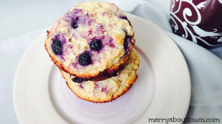 Delicious Lime Blueberry Muffin Recipe