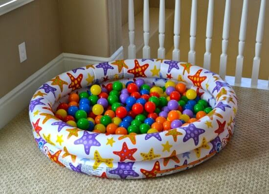 A ball pit is one of the Best Gifts for 1-Year-Old kids