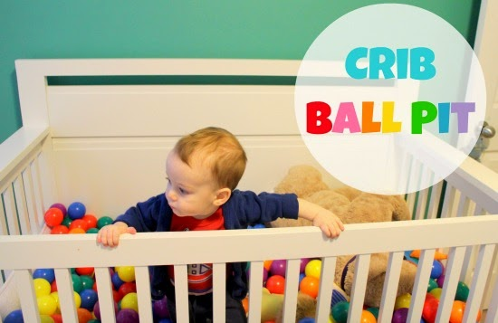 Crib ball pit