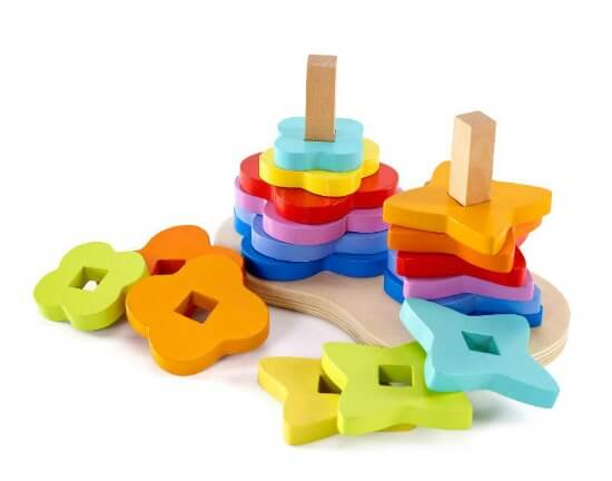 rainbow stacker Best Gifts for 1-Year-Old