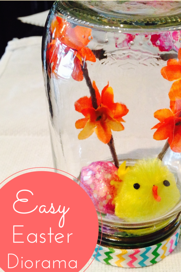 Easy Easter Crafts Mason Jar Dioramas Merry About Town