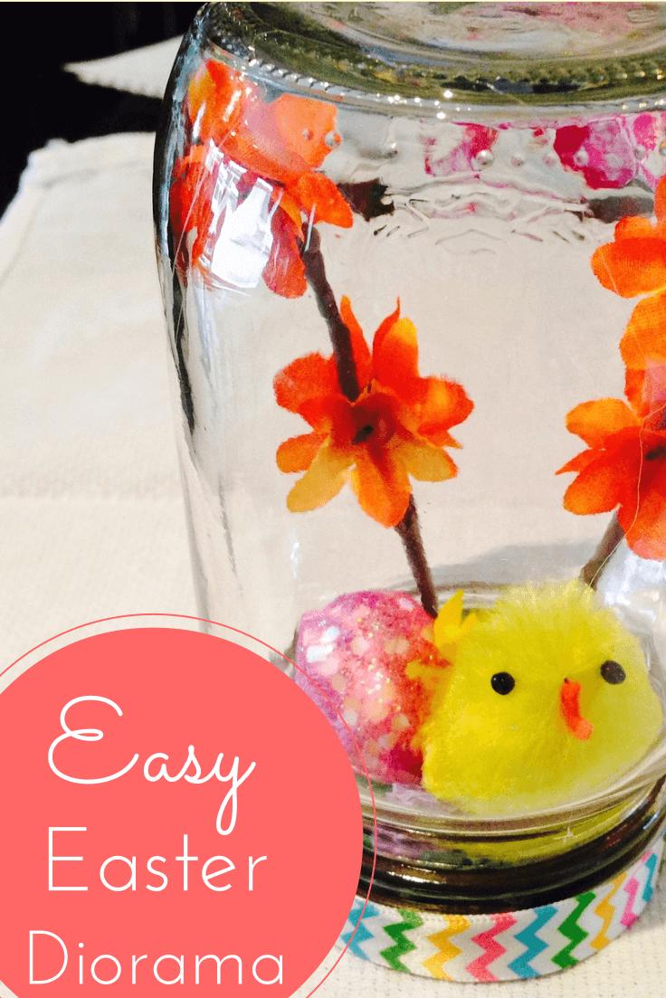 Easter Mason Jar Dioramas