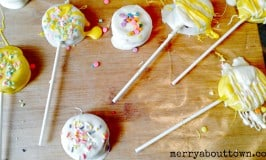 Easy Easter Treats – Dipped Peanut Butter Pops