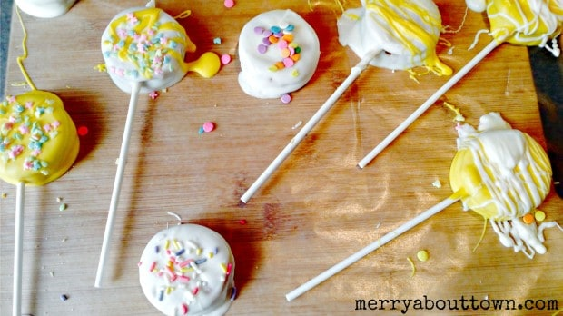 Easy Easter Pops - Merry About Town