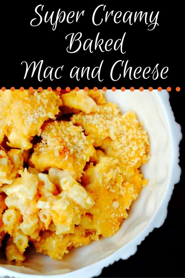 super creamy baked macaroni and cheese recipe