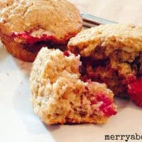 Raspberry Lime Muffins