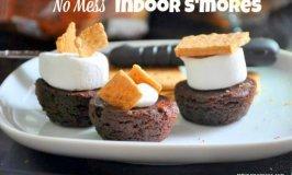 No Mess Indoor S'mores