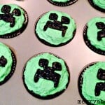 Easy Creeper Cupcakes - Merry About Town