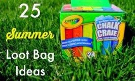 25 Summer Loot Bag Ideas