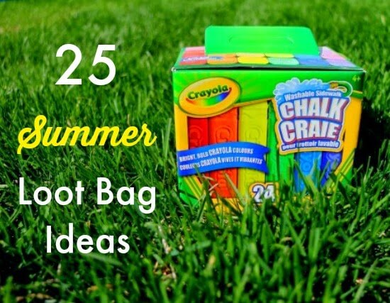 loot bag ideas for summer parties