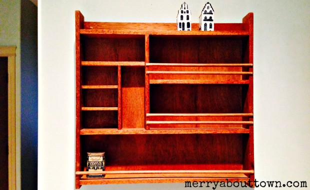 Antique Spice Rack - Merry About Town