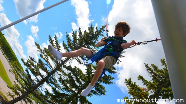 Euro bungy at COP - Merry About Town