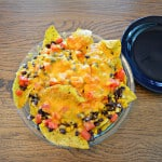 Black Bean, Corn and Lime Vegetarian Nachos - Merry About Town