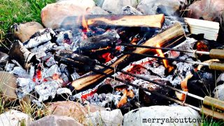Campfire Pizzas