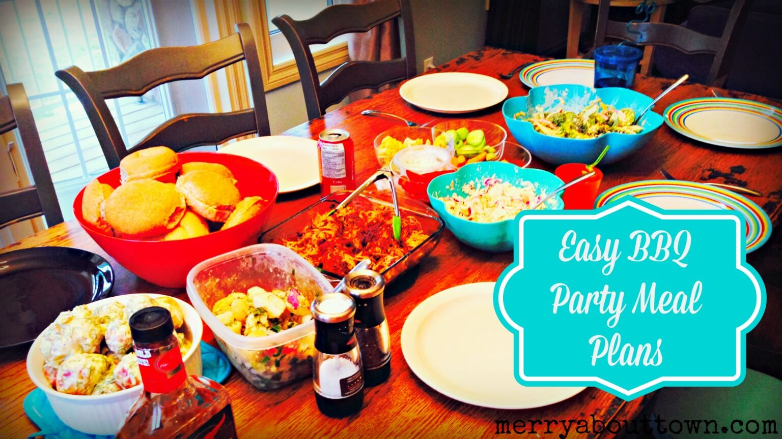 Easy BBQ Party Meal Plans - Merry About Town