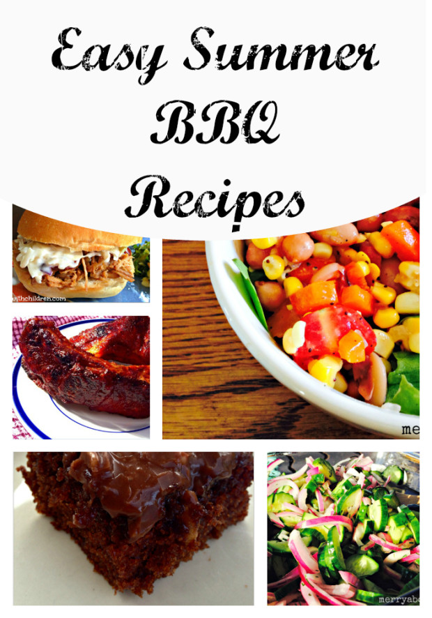Easy Summer BBQ Recipes