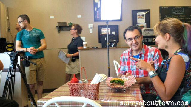 Filming You Gotta Eat Here at Naina's Kitchen - Merry About Town