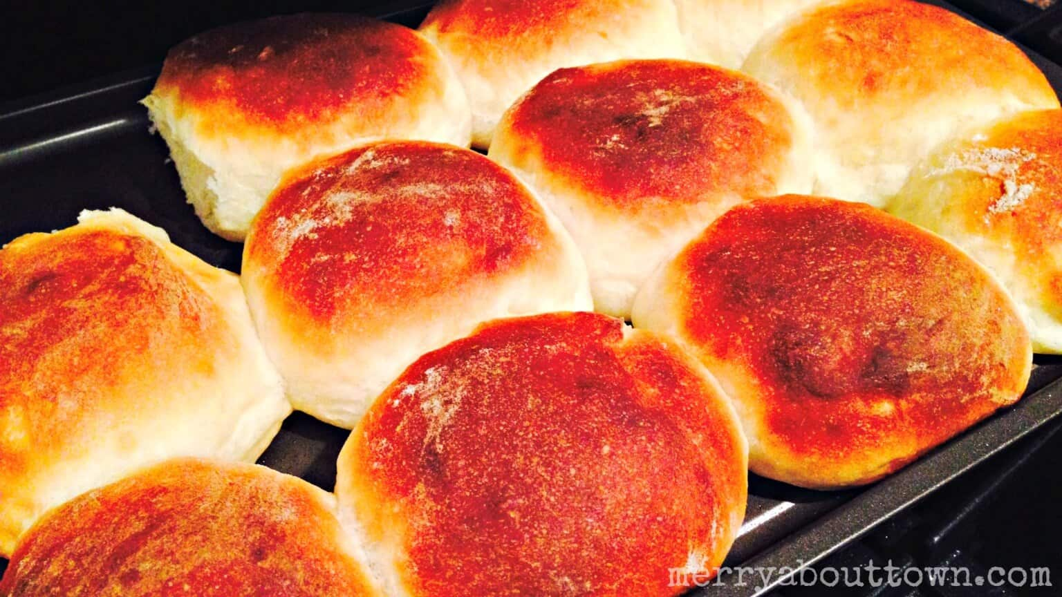 Hutterite Buns - Merry About Town