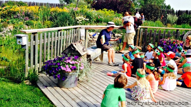 Knee High Naturalists at Ellis Bird Farm - Merry About Town
