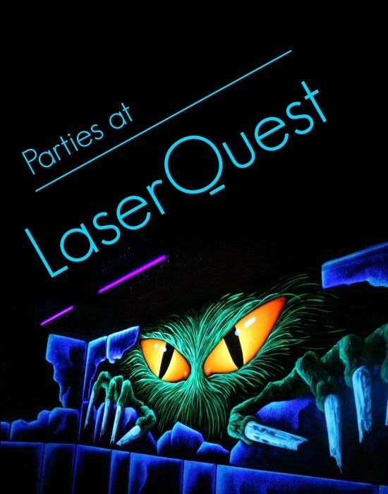 Birthdays at LaserQuest: a Real Party