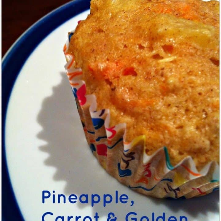 Pineapple-Carrot-and-Golden-Raisin-Muffins-Merry-About-Town