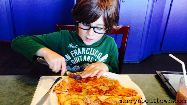 Diving in to a Pannenkoek - Merry About Town