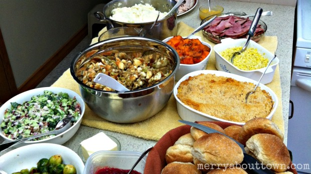 Thanksgiving Dinner - Merry About Town