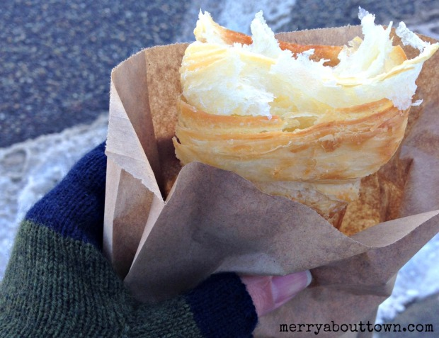 Croissant on the go - Merry About Town