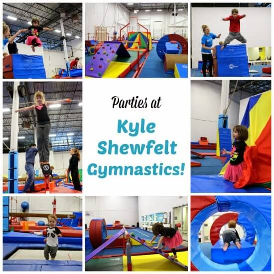 Birthday Parties at Kyle Shewfelt Gymnastics