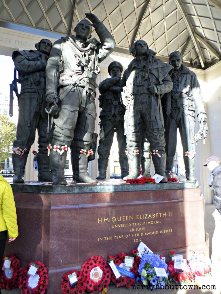 RAF Memorial - Merry About Town