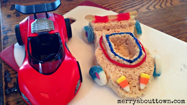 Racecar Treats for Toys - Merry About Town