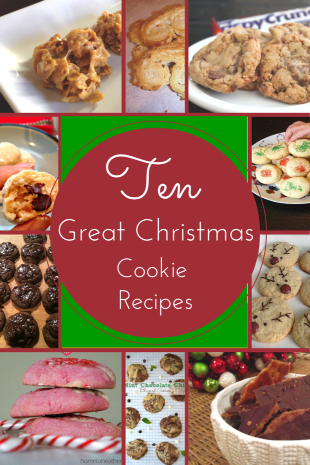 Ten Christmas Cookies You Should Try this Holiday Season!