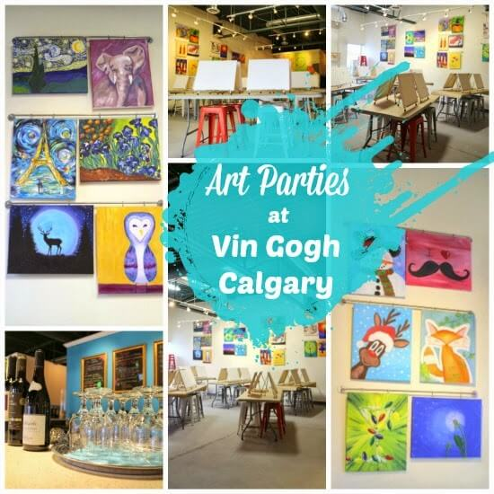 Vin Gogh: Art Parties in Calgary… with a Twist