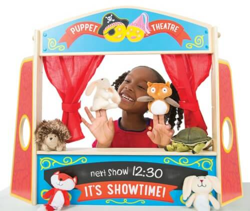 ive always wanted a puppet theatre for the kids but im not prepared to commit to a giant one this table top theatre is the perfect alternative - Best Toys Christmas 2014