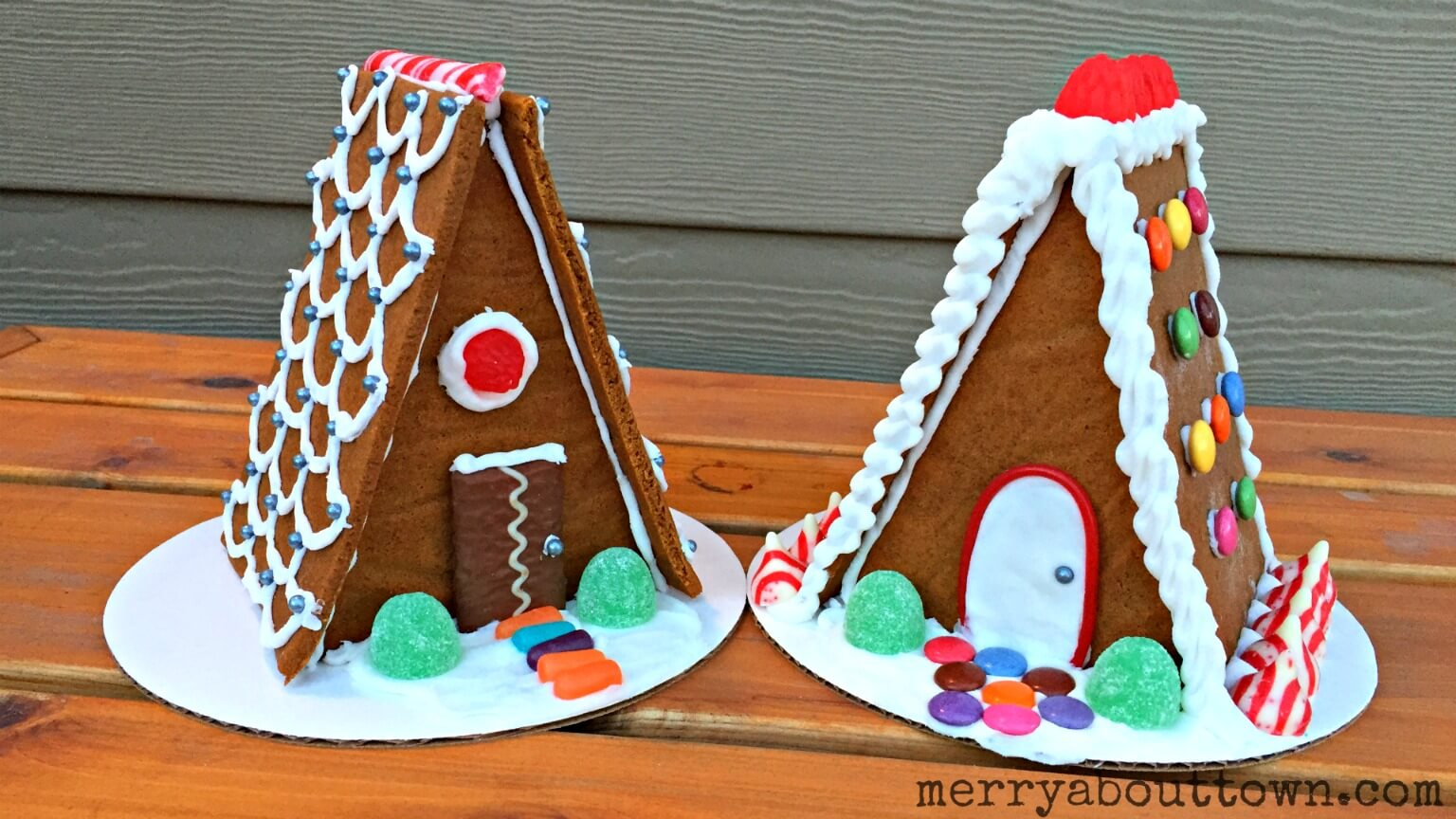 Homemade Gingerbread Houses - Merry About Town