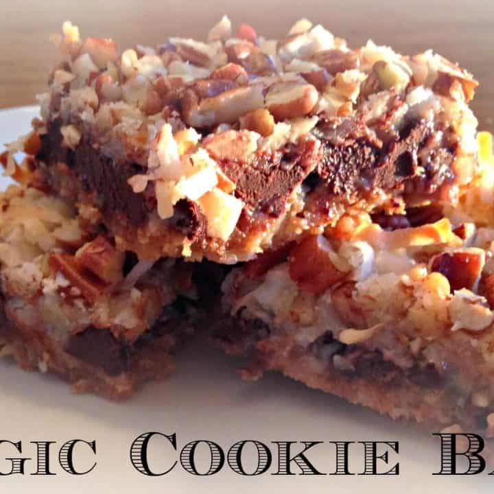Magic Cookie Bars - Merry About Town