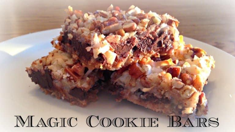 Holiday Baking Memories – Magic Cookie Bars
