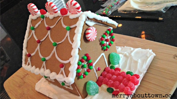 Prebuilt Gingerbread House - Merry About Town