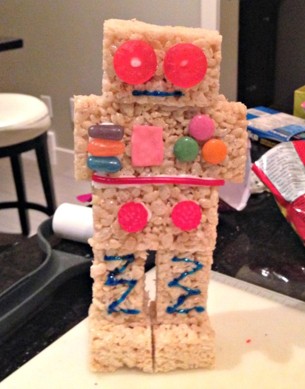 Rice Krispies Robot - Merry About Town