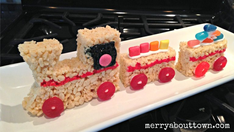 Rice Krispies Treats for Toys Train - Merry About Town