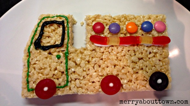 Rice Krispies Truck - Merry About Town