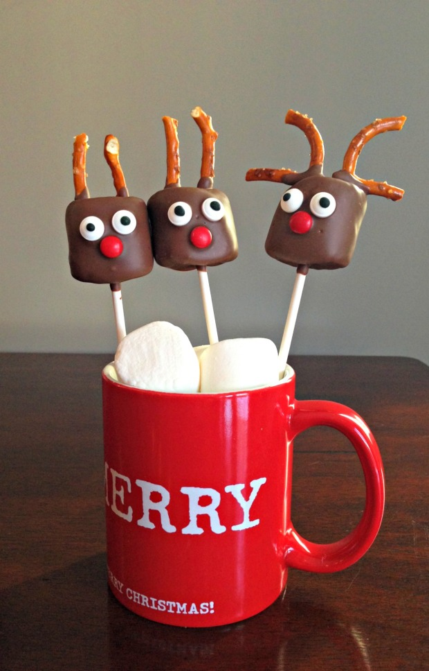 Tall Reindeer Pops - Merry About Town