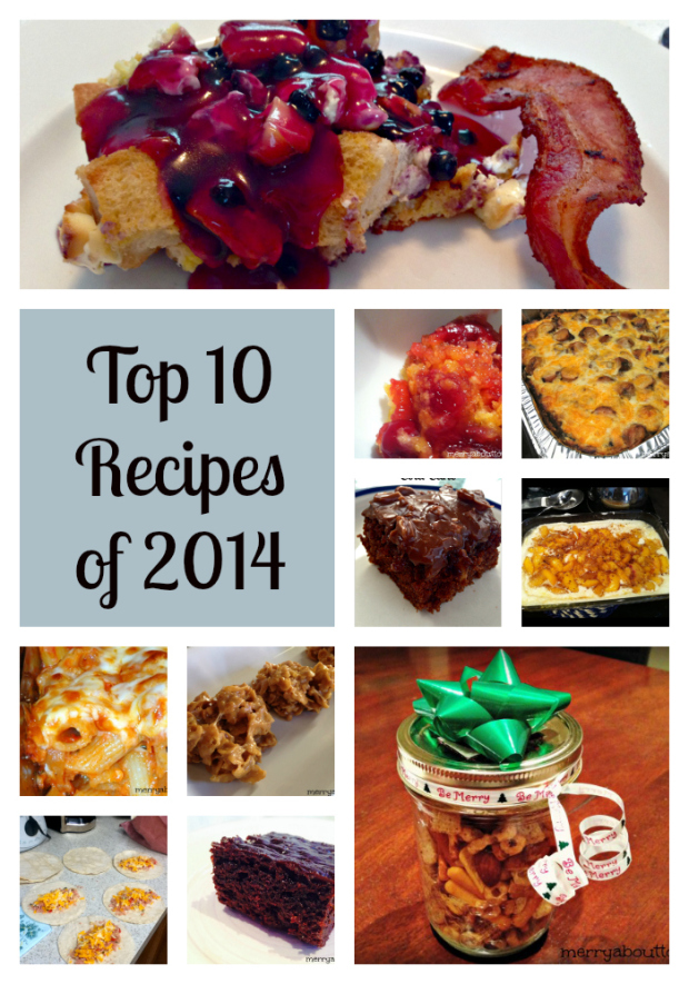 Top 10 Recipes of 2014 on Merry About Town